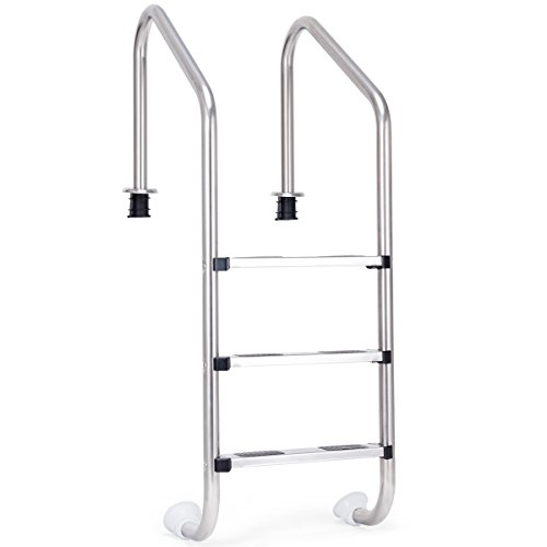 Goplus Swimming Pool Ladder for In...