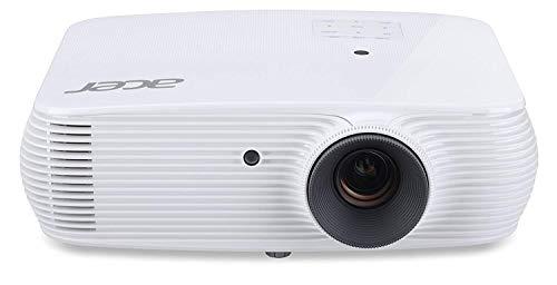 Acer H5382BD Proiettore, Risoluzione 720P, Contrasto 20.000:1, Luminosità 3.300 ANSI, Connessione HDMI, VGA, MHL, DLP, 3D, Nvidia 3DTV, Speaker, Bianco