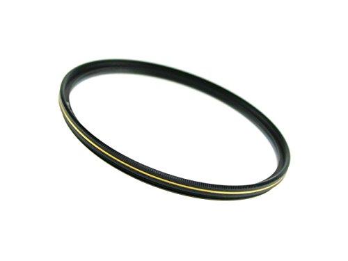 ドレスアップフィルター【薄枠設計】レンズ保護用マルチコートMC-UVフィルター52mm『ゴールドライン』