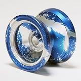 MagicYoYo M002 April Aluminum Alloy 6060 Yo-Yo (Blue Silver)
