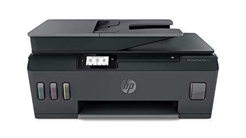 HP Smart Tank Plus 655 Stampante Multifunzione con Serbatoio a Getto di Inchiostro, Scanner, Fotocopiatrice, Fax, ADF, Velocit 11 ppm Nero e 5 ppm Colori, Wi-Fi, Wi-Fi Direct, App HP Smart, USB, Nero