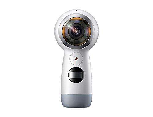 Samsung GEAR 360 2017 Videocamera a 360, Risoluzione 4K, Espandibile fino a 256 GB [Versione Italiana]