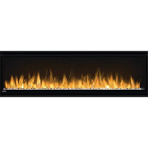 Napoleon Alluravision-NEFL50CHS-Slim Wall Hanging Electric Fireplace, 50 Inch Slim, Black