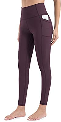 Comfortable all day: The leggings are made of moisture-wickingfabrics which keeps your skin dry(Avoid odor). Soft 4-way stretch fabric gives you the perfect fit for any pose of Yoga, and gives you the comfort of running, exercising and all day long w...