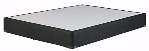 Ashley Furniture Signature Design - M80x Foundation - Nonskid Top - Solid Wood Construction - Twin XL Size Foundation - Black