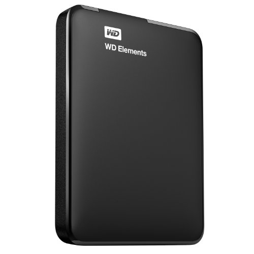 Western Digital WD Elements Portable Hard Disk Esterno, USB 3.0, 750 GB, Nero