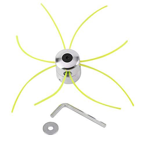 Universale Alluminio Trimmer Head Accessori per Tagliaerba con Linea Rondella Chiave Esadecimale