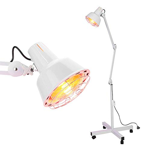 Lampada infrarossi Lampada Termica ad infrarossi Lampada Di Calore Lampada Riscaldante massaggio fisioterapia per termoterapia,rapido sollievo per dolori muscolari,Contratture Muscolari