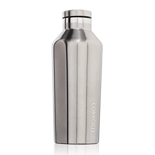 SPICE OF LIFE(スパイス) 水筒 ステンレスボトル CANTEEN CORKCICLE スチール 270ml 9oz 保冷 保温 真空断...