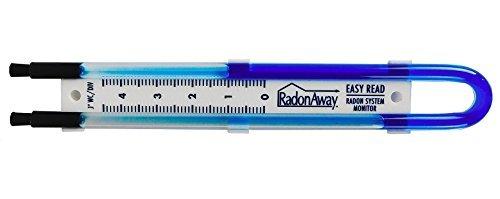 Radon Away 50017 Easy Read Manometer