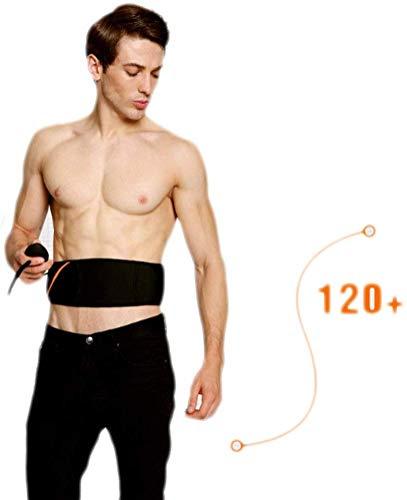 DEJA Electric Heat Vibration Waist Sauna Belt Shape Slimming Massage Belt Lose Weight Slimming Massager 2