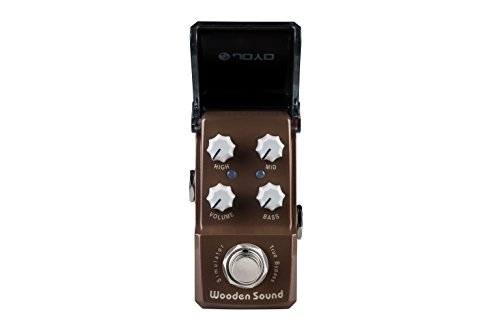 JOYO JF-323 Wooden Sound Acoustic Simulator mini Guitar Effects Pedal Ironman