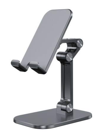 Cell Phone Stand Adjustable, JACKYLED Foldable Tablet/ Phone Holder with Anti-Slip Base for Desk...