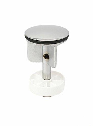 tecuro Exzenterstopfen Ø 40 mm Ablaufstopfen Einsatz für Ablauf verchromt mit Haarsieb