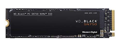 WD Black SN750 SSD interne NVMe hautes performances pour le gaming - 1To