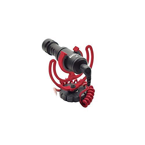 Rode VideoMicro - Microfono Direzionale Compatto per fotocamere DSLR, videocamere e registratori audio portatili,  Jack 3,5 mm, Colori assortiti, 1 pezzo
