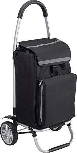 Meister, trolley per la spesa, 54 litri, con scomparto refrigerante, borsa rimovibile e...