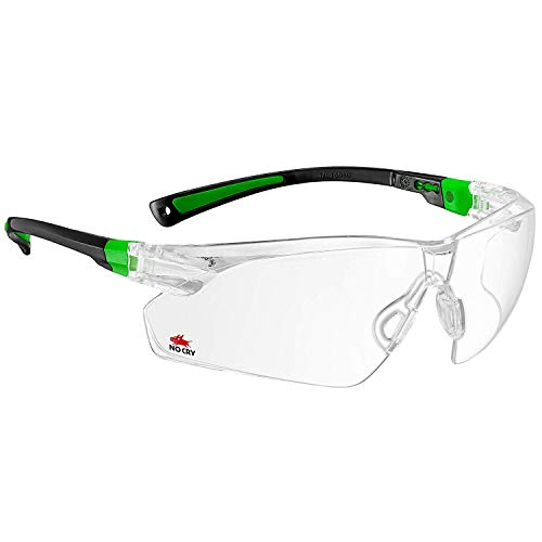 NoCry Safety Glasses with Clear Anti Fog...