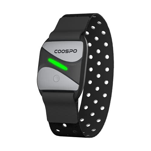 CooSpo Frecuencia Cardíaca Bluetooth 4.0 Ant+ Sensor óptico de...