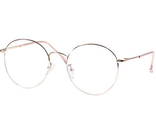 ROSA&ROSE Gafas para Ordenador Anti luz Azul - Gafas con