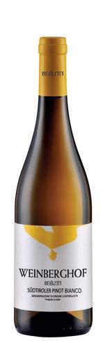 Confezione da 6 Bottiglie Vino Bianco Pinot Grigio Alto Adige Azienda Agricola Weinberghof -cz