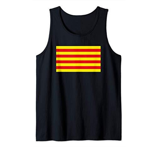 Bandera catalana de catalán - Senyera Camiseta sin Mangas
