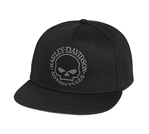 ハーレーダビッドソン B&S ベースボールキャップ メンズ ブラック ファッション小物 帽子 キャップ 97687-21VM