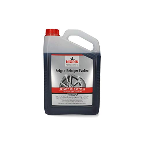 NIGRIN 72933 EvoTec Felgenreiniger, 3 Liter, 3 Liters