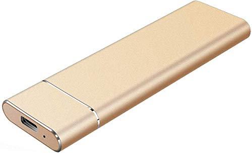 Disque Dur Externe, Disque Dur Portable 2 to Disque Dur Externe USB 3.1 / Type-C Slim Stockage de...