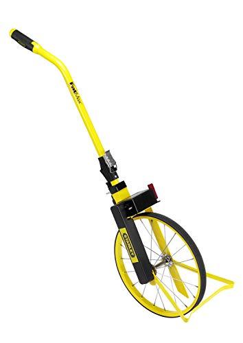 Stanley FatMax Messrad MW55S (analoge Anzeige, rutschfeste Lauffläche, robustes Speichenrad, Rückstellknopf) 1-77-109