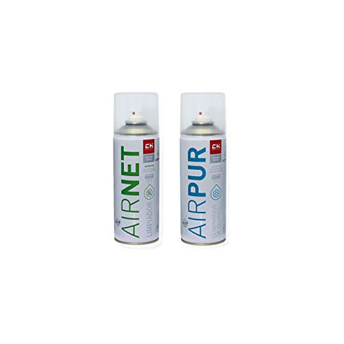 CH Quimica Pack AIRNET + AIRPUR Spray Limpia y Elimina olore