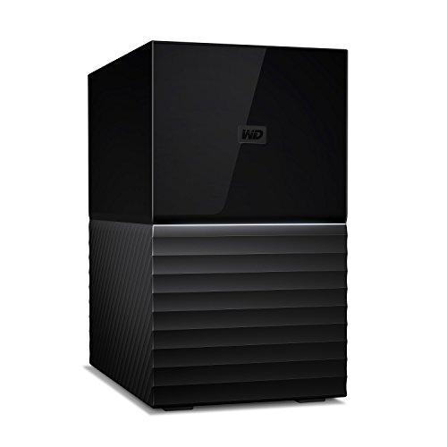 Western Digital WD My Book Duo Hard Disk Desktop USB 3.1, RAID, Software di Backup Automatico,...