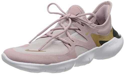 Nike Damen Free Rn 5.0 Laufschuhe, Violett (Plum Chalk/Metallic Gold-Plati 501), 38 EU (4.5 UK)