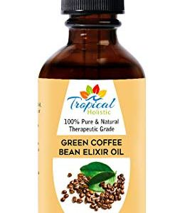 Green Coffee Bean Elixir Oil 4 oz -100% Pure Unrefined Blended Total Body Massage Oil for Cellulite, Weight Loss, Massage, Smoother, Firmer Skin 5 - My Weight Loss Today