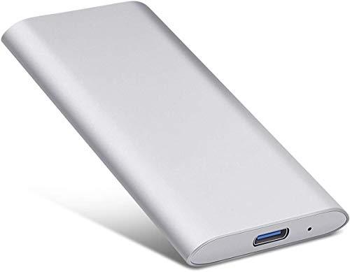 Disque Dur Externe Portable 2 to - Disque Dur Externe Ultra Fin USB 3.1 pour PC, Mac, Ordinateur...