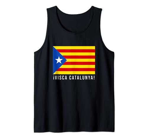 Visca Catalunya / Viva Cataluña Camiseta sin Mangas