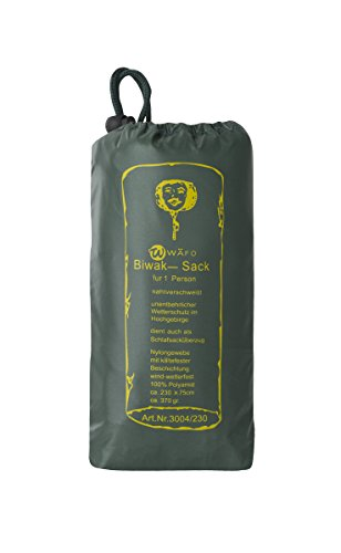 Wäfo Mount Safety 1-Mann-biwaksack, olivgrün, One Size