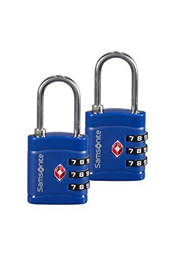 Samsonite Global Travel Accessories - Cadenas TSA à 3 chiffres (2x), 7 cm,...