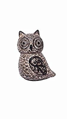 """PRODUCT: Hosley's 6"""" High, Decorative Tabletop Owl USE: Great for adding a decorative touch to any room's decor. Perfect for everyday use, wedding, events, aromatherapy,Spa, Reiki, Meditation. BENEFITS: They can accent your home or office for the rig..."""