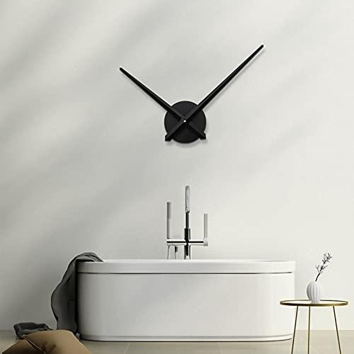 URAQT Orologio da Parete Fai-da-Te, 3D Orologio da Parete Moderno, Orologio Parete Decorazione Facile da Montare per Casa, Ufficio, Hotel