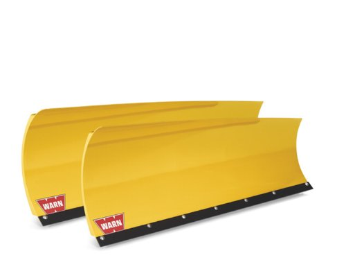 WARN 80954 Tapered Plow Blade, 54' Length, Yellow