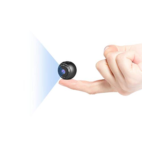 Mini Telecamera Spia Nascosta,MHDYT HD 1080P Portatile Micro Cop Spy Cam con Sensore di...