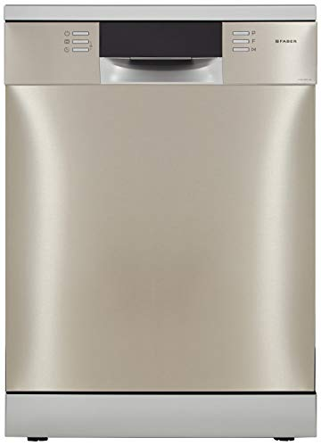 Faber 14 Place Settings Dishwasher (DISHWASHER FFSD 8PR 14S, Silver)