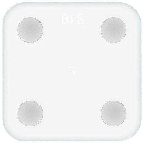 Xiaomi Mi Scale 2 Báscula Inteligente Bluetooth Blanco Bioimpedancia...