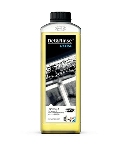UNOX Det&Rinse ULTRA - Detergente per Unox Cheftop o Barkertop, 10 x 1 l
