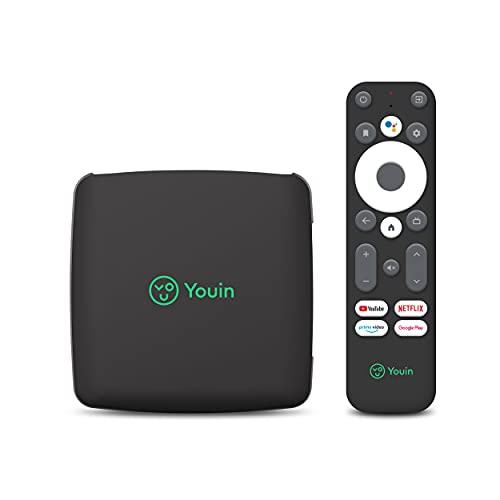 Receptor Android TV 4K UHD You-Box EN1040K -Asistente de Google y Chromecast integrado - Producto Exclusivo Amazon