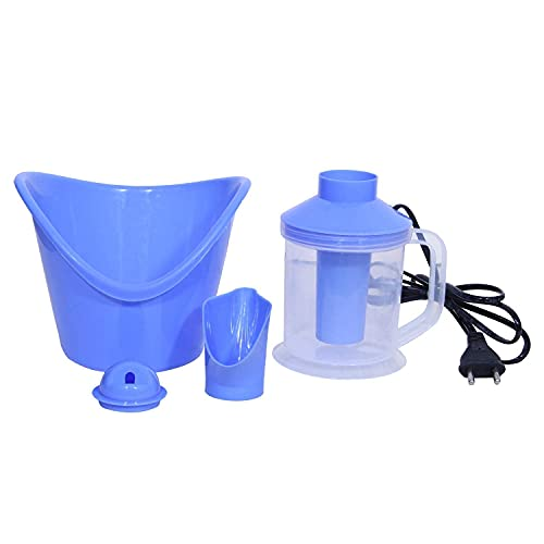 TIMESOON Vaporizer Face,Spa, Nose,and Cough Steamer 3 in 1 Plastic Steamer Vaporizer, Nozzle...