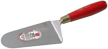 Stubai 418251 Truelle de couvreurs type 'boheme', 180 mm, Argent/Rouge