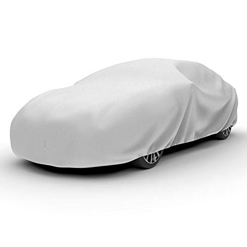 Budge RB-2 Rain Barrier Car Cover Gray Size 2: Fits up to 14' 2' Outdoor, Breathable