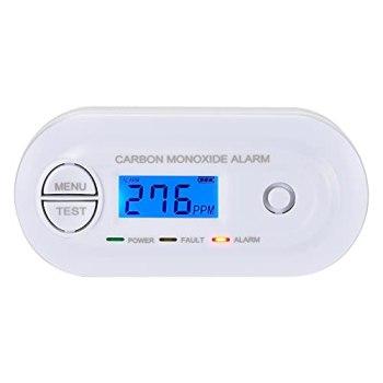 Scondaor Détecteur de monoxyde de Carbone en 50291 certifié, co - Alarme alimentés par Batterie